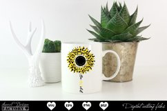 Sunflower leopard print Svg Product Image 6