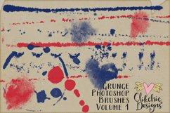 Photoshop Brushes - Grunge Texture Brushes Vol 1 Product Image 3