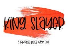 Web Font King Slayer Product Image 1