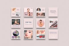Instagram Bundle. Universal Beauty Canva Instagram Templates Product Image 2
