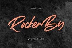 Rockerby Handwritten Modern Font Product Image 1