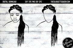 Afro Hair - Natural Long Braids Product Image 1