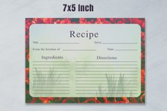 Artistic Recipe Card Template V1 Product Image 3