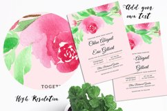 Floral Invitation Backgrounds Product Image 4
