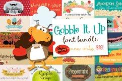 Gobble It Up Font Bundle Product Image 1