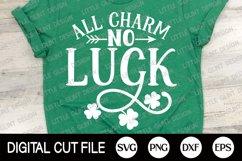 St Patricks Day Svg, Shamrock Svg, Lucky Dxf, Clover Shirt Product Image 1