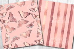 Rose Gold Butterfly Pattern Collection Product Image 5