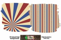 Patriotic July 4th Background for Dye Sublimation Product Image 6