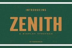 Web Font Zenith Product Image 1