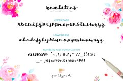 Realities Brush Font Product Image 3