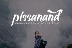Pissanand Handwriten Vintage Product Image 1