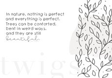 Twigs - A Handwritten Scribble Font Product Image 2