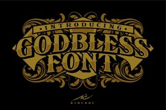 GODBLESS FONT Product Image 4