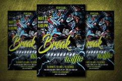 BREAK DANCE BATTLE |Break Dance Flyer | Photoshop Template Product Image 1
