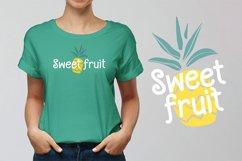 Pineapple Grass || handwritten font Product Image 5