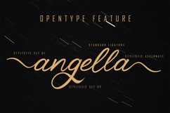 Sellyha - Lovely Script Font Product Image 2