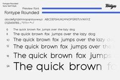 Fontype Rounded - Font Family Product Image 4