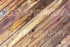 Rustic wooden backgrounds set Product Image 11