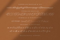 Fallen Jones | a Handwritten Font Product Image 9