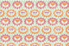 Fox and Owl Digital Papers Product Image 3