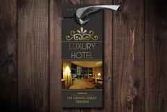 Hotel Room Door Hangers Product Image 1