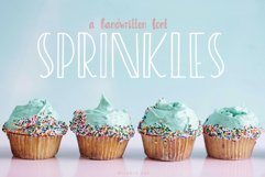 Sprinkles, A sweet and playful font Product Image 1