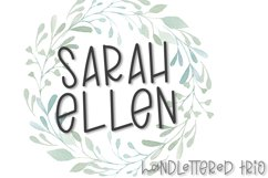 Ellen & James - A Handlettered Trio of Fonts Product Image 7