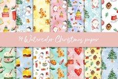 Christmas BUNDLE digital paper pattern Product Image 4