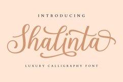 Shalinta - Luxury Calligraphy Font Product Image 1