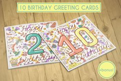 Birthday greeting cards collection Product Image 1