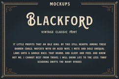 Blackford - Vintage Classic Font Product Image 3