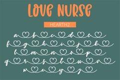 Love Nurse - A handwritten font duo Product Image 3