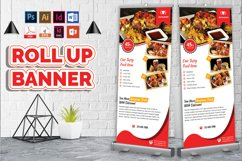 Restaurant Roll Up Banner Vol-03 Product Image 1