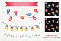 Watercolor Christmas cliparts Product Image 6