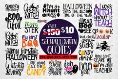Big Halloween SVG Bundle - 50 Designs Cut Files Product Image 1