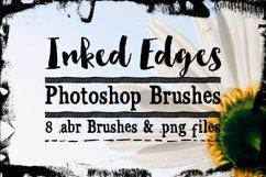 Inked Edges Photoshop Brushes Product Image 1