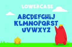 Little Munstar - A Monster Font Product Image 3