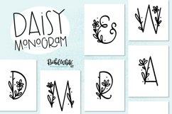 Daisy Monogram Font Product Image 1