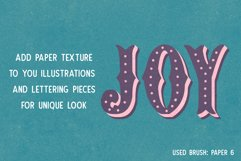 PAPER TEXTURE BRUSHES FOR PROCREATE Product Image 3