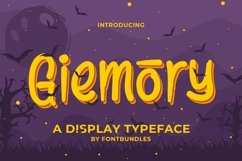 Web Font Giemory Product Image 1