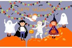 Halloween children in Halloween costume. Product Image 1
