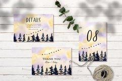 Beautiful Landscape Wedding Invitation Set Product Image 2