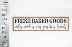 Fresh Baked Goods - Farmhouse Kitchen Cutting File Product Image 1