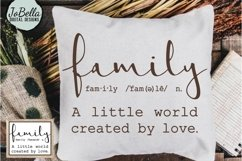 Family SVG and Printable - Farmhouse Definition Product Image 2