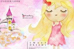 Sweet Dreams Baby Girls Nursery Clip Art Pack xo Product Image 3
