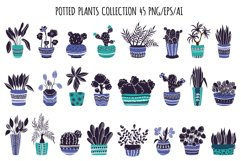 Potted Plants - Vector Collection Product Image 3