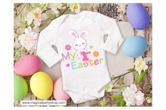 Easter Bunny SVG Cut File Product Image 1