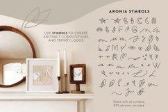 Aronia - Thin Line Logo Font Product Image 6