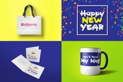 Web Font Happy Party Product Image 4