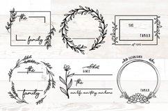 Vol 2 - Family Monogram Sign Bundle Floral Product Image 12